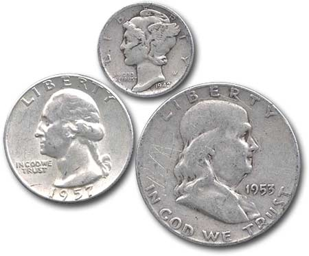 90 Usa Silver Coins Years Silver Content And Face Values