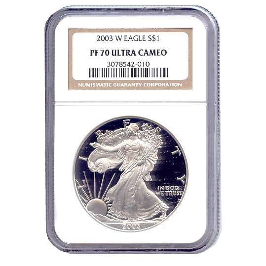 A Proof American Silver Eagle